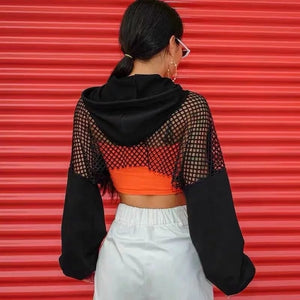 Splicing Mesh Jacket
