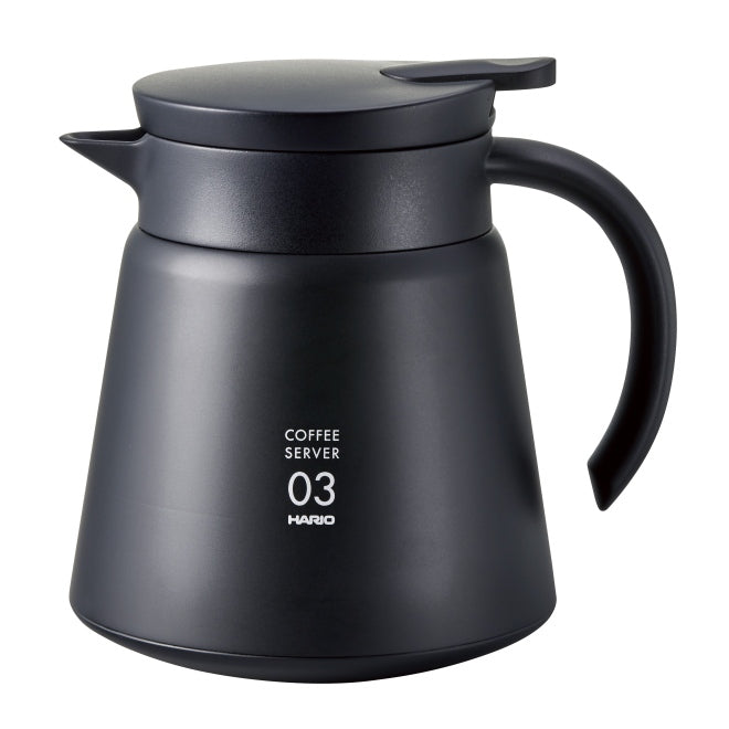 Hario Kanne V60 Heat Coffee Server 800 Gr. 03 schwarz, VHS-80B