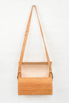 Load image into Gallery viewer, Wood + Leather Purse