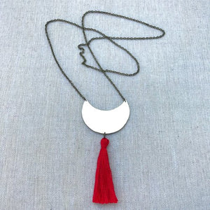 Stay Necklace ~ Red