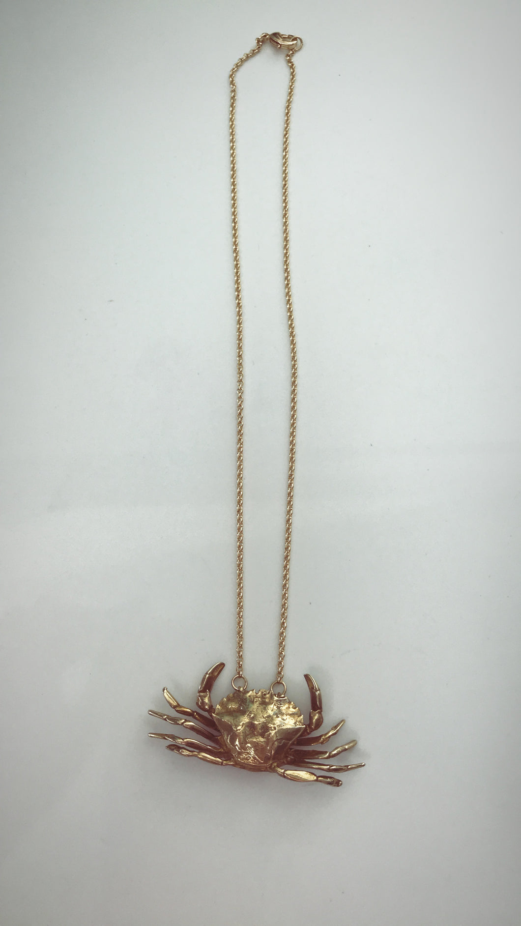 Baby Crab Necklace
