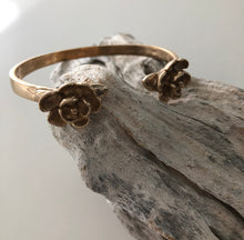 Load image into Gallery viewer, Double Magnolia Cuff
