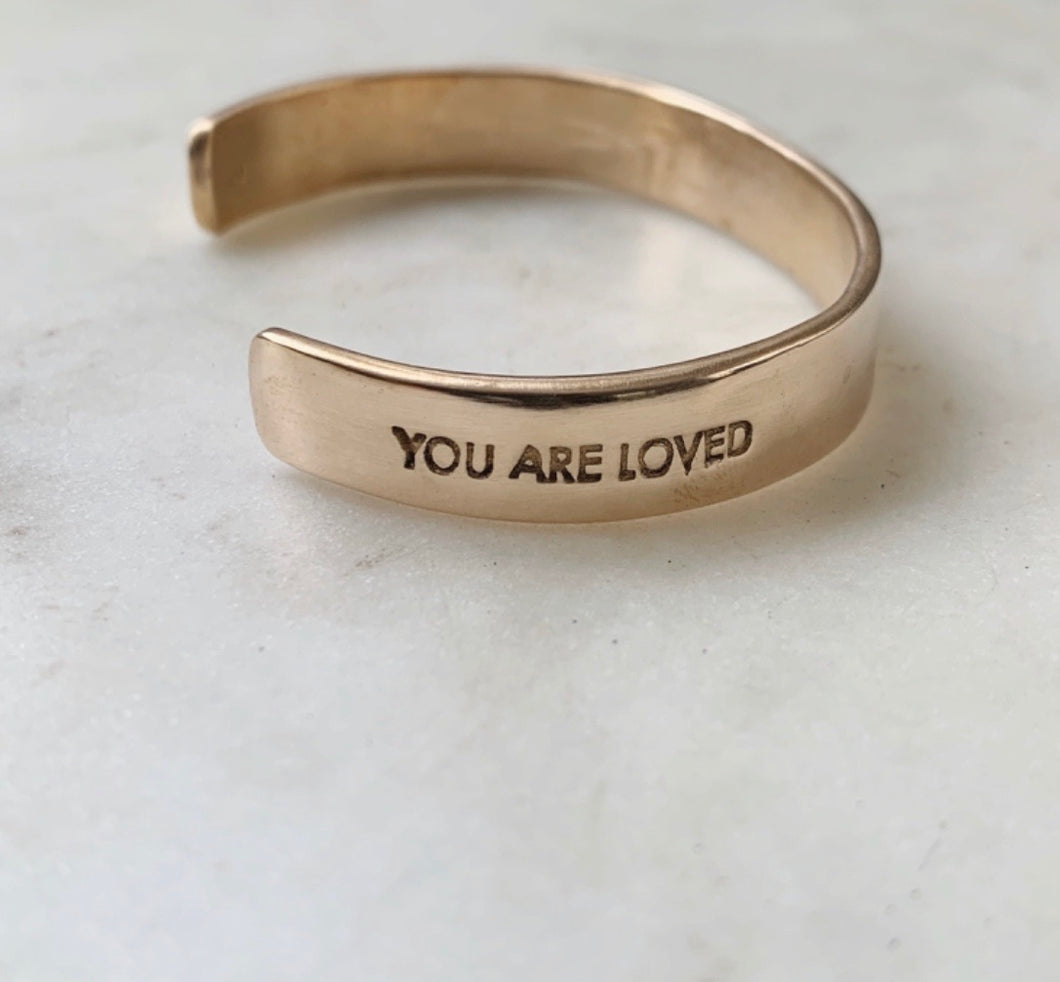 You Are Loved Cuff