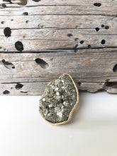 Load image into Gallery viewer, Pyrite Ring • Large