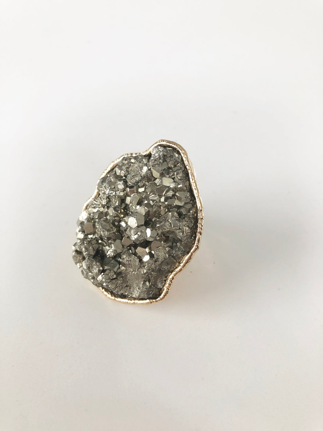 Pyrite Ring • Large