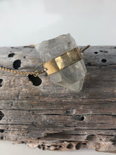 Load image into Gallery viewer, Small Crystal Necklace