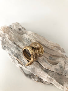 Water Moccasin Ring
