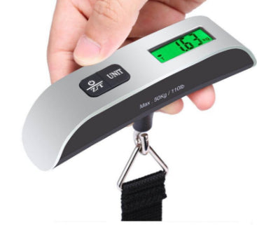 Digital Luggage Scale Weight Scale with Temperature Sensor Up to 110 lbs.