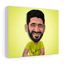 Load image into Gallery viewer, Caricature Portrait Custom Illustrated Canvas - Print My Portrait