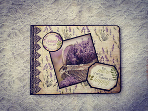Album Foto Handmade Purple