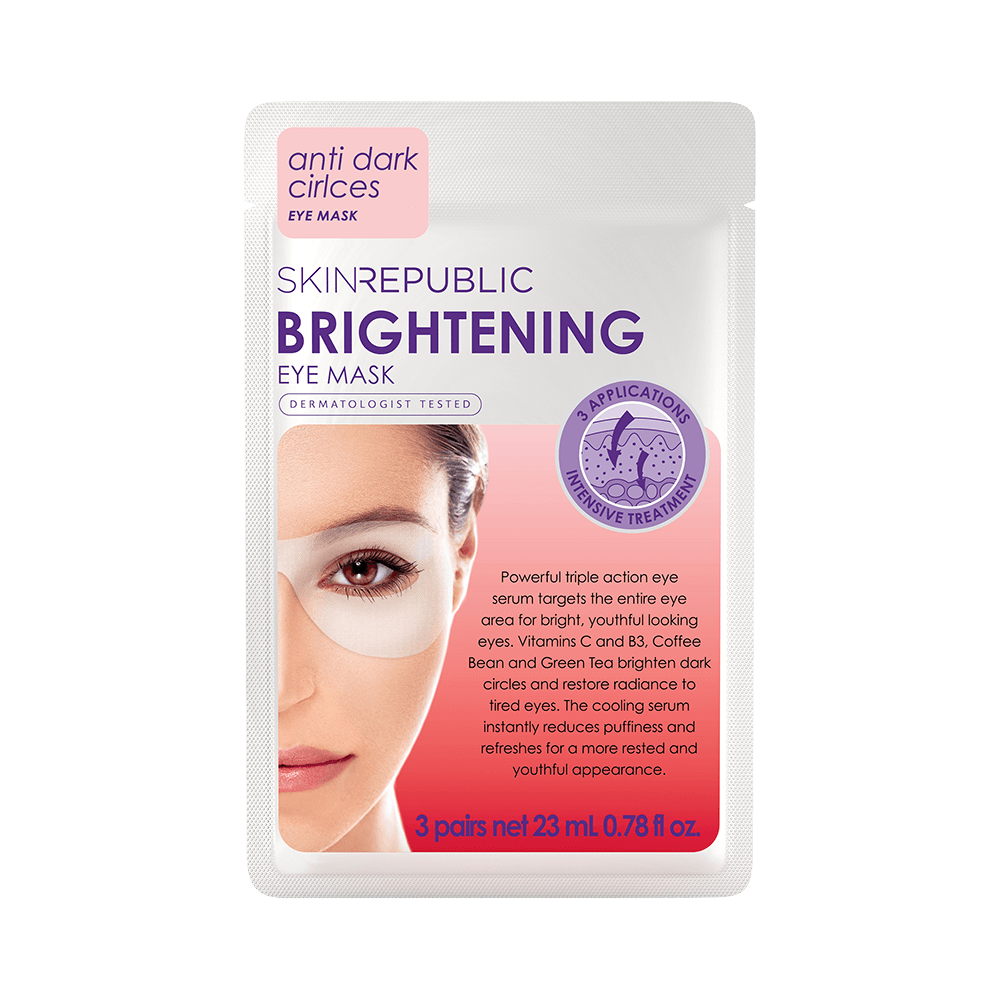 SKIN REPUBLIC Brightening Eye Mask (3 Pairs) SKIN REPUBLIC