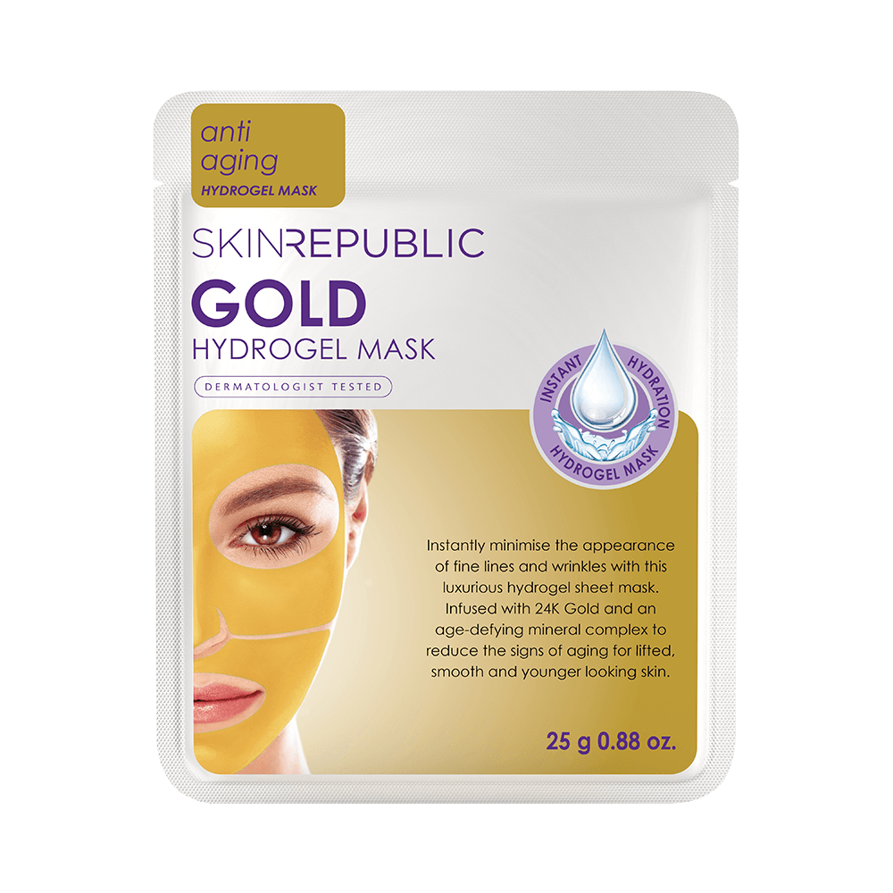 SKIN REPUBLIC Gold Hydrogel Face Mask SKIN REPUBLIC