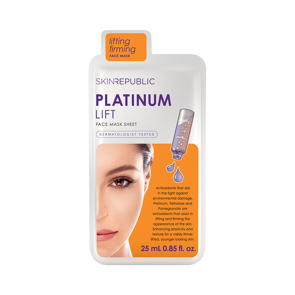 SKIN REPUBLIC Platinum Lift Face Mask Sheet SKIN REPUBLIC