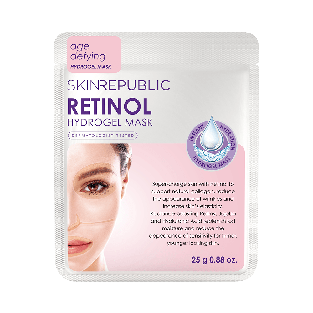 SKIN REPUBLIC Retinol Hydrogel Face Mask SKIN REPUBLIC