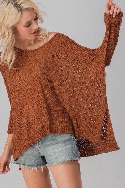 Camel Oversized Dohlman Sweater