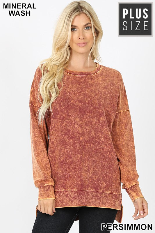 Persimmon Mineral Wash Top