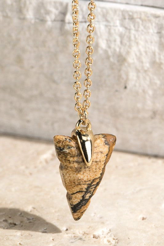 Arrow Head Necklace - Catching Fireflies Boutique