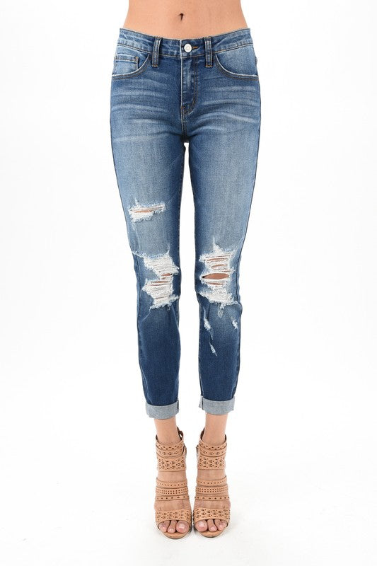Sydney Distressed Skinny - Catching Fireflies Boutique