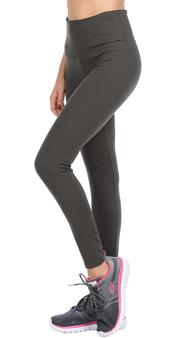 Charcoal Leggings With Hidden Pocket - Catching Fireflies Boutique