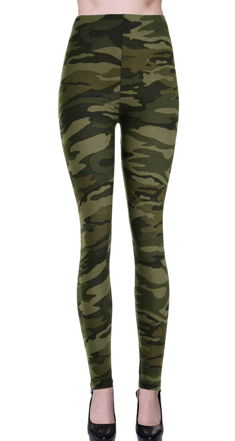 Camouflage Leggings - Catching Fireflies Boutique