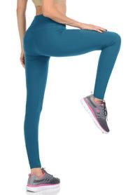Teal Plus Leggings - Catching Fireflies Boutique