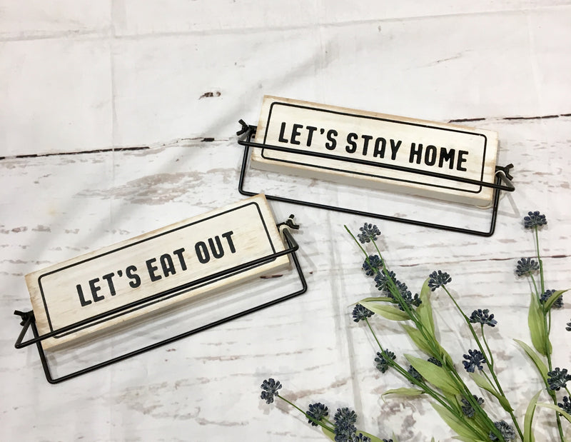 Stay Home/Eat Out - Catching Fireflies Boutique