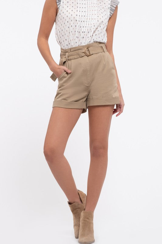 Don't Rock The Boat Khaki Shorts