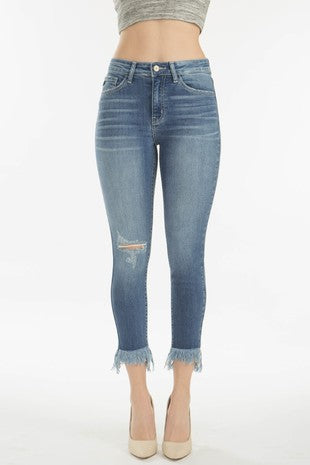 KanCan Light Denim Distressed - Catching Fireflies Boutique