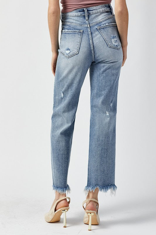 Charmaine Ankle Flare Jeans - Catching Fireflies Boutique