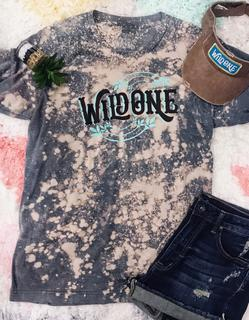 Wild One Plus Bleached Graphic Tee