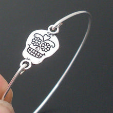 Load image into Gallery viewer, Sugar Skull Bangle