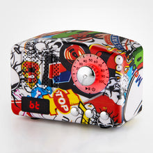 Load image into Gallery viewer, Mini Retro Bluetooth Speaker FM Radio Mic Portable Handsfree Outdoor Wireless Bluetooth Speaker Mp3 Player Subwoofer Stereo Spea