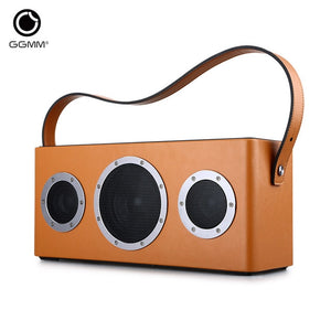 GGMM M4 Wireless WiFi Speaker Portable Bluetooth Speaker Metro Audio Heavy Bass Sound for iOS Android Windows With MFi certified