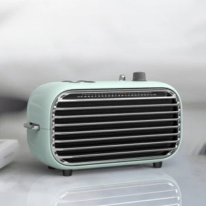 The latest xiaomi mijia LOFREE Bluetooth speaker fashion retro lightweight portable FM radio Bluetooth cable dual mode Smart 2