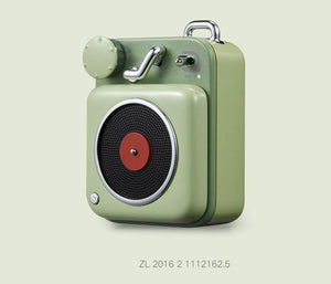 "RETRO ""RECORD PLAYER"" SPEAKER"