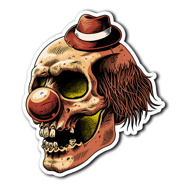 Clown Sticker