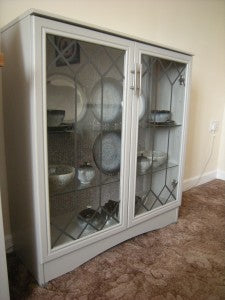 No 6 – A Refinished Display Cabinet