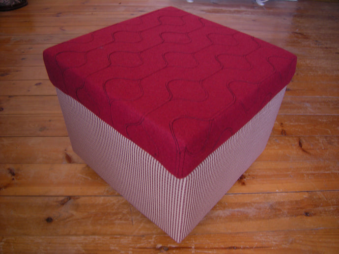 Refurbishing a 1970's Ottoman