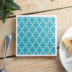 Teal Tile <br> Coaster