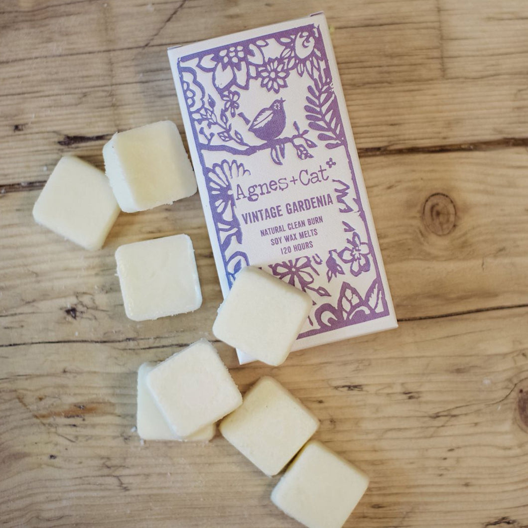 Agnes & Cat Wax Melts - Vintage Gardenia