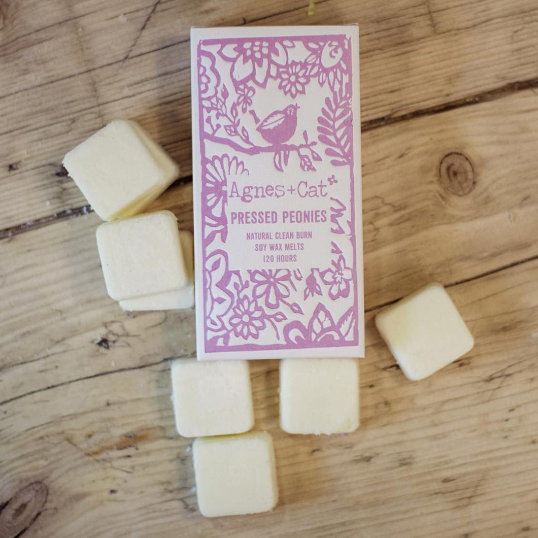 Agnes & Cat Wax Melts  Pressed Peony