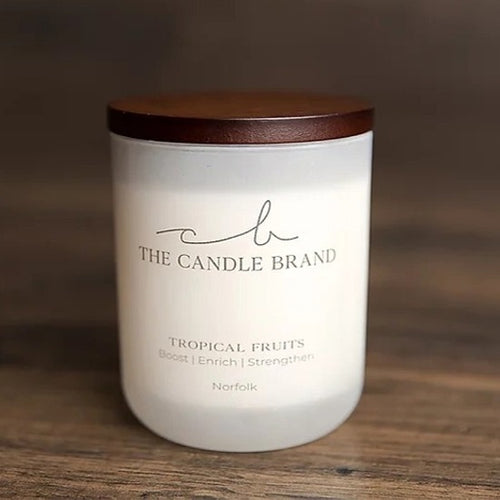 The Candle Brand <br> 55 hour Candle <br> Tropical