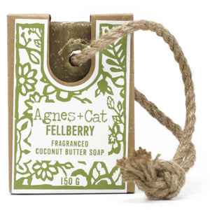 Agnes & Cat Soap on a Rope - Felberry