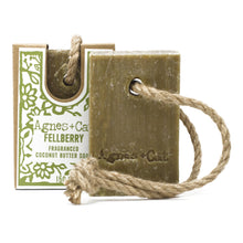 Load image into Gallery viewer, Agnes & Cat Soap on a Rope - Felberry