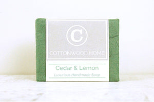 Cottonwood Soap <br>Cedar & Lemon
