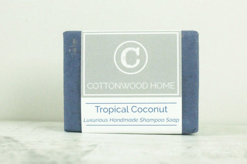 Cottonwood Shampoo Bar <br>Tropical Coconut