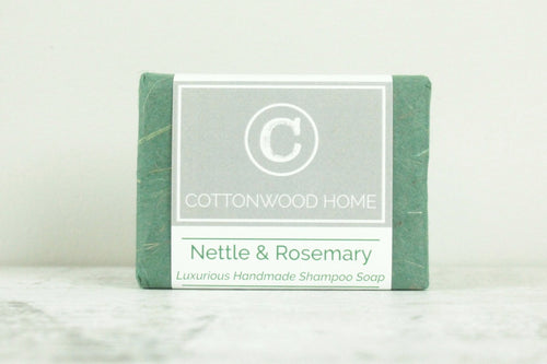 Cottonwood Shampoo Bar <br>Nettle & Rosemary
