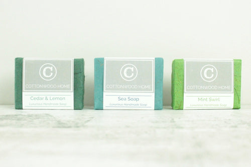 Cottonwood Soap <br>Bright & Fresh <br>Set of 3
