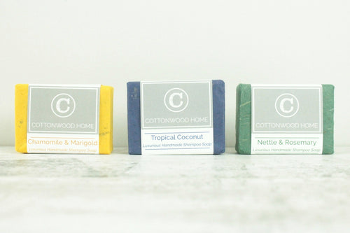 Cottonwood Shampoo Bars <br>Set of 3