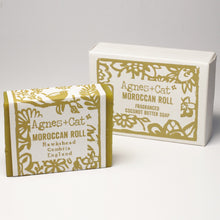 Load image into Gallery viewer, Agnes & Cat Coconut Butter Soap - Moroccan Roll